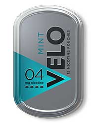 VELO Nicotine Pouches Mint 4mg $0.50 OFF 5ct