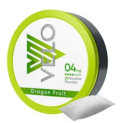VELO Nicotine Pouches Dragon Fruit 4mg 5ct