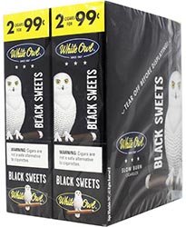 White Owl Cigarillos Black 30ct