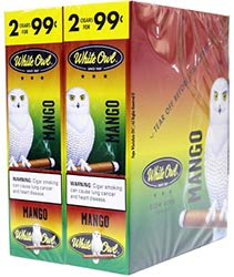 White Owl Cigarillos Mango 30ct