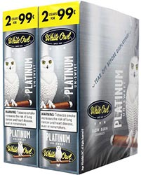 White Owl Cigarillos Platinum 30ct