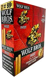 Wolf Bros Sweet Cigarillos