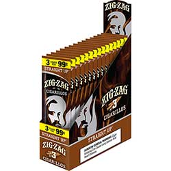 Zig Zag Cigarillos Straight Up 15 3pks