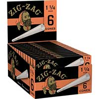 Zig Zag Cones 1.25 24 Packs of 6