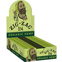 Zig Zag Organic Hemp 1.25 Rolling Papers 24ct Box