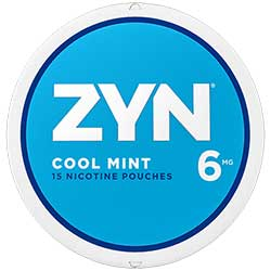 ZYN Nicotine Pouches Cool Mint 6mg 5ct