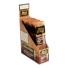 Black and Mild Natural Wrap Wine Wood Tip 15ct