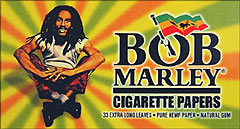 Bob Marley Extra Long Leaves 50 33ct Booklets