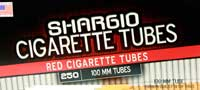 Shargio Red 100 Cigarette Tubes 250ct