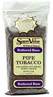 Super Value Buttered Rum Pipe Tobacco 12oz Bag