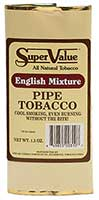 Super Value English Mixture Pipe Tobacco 6 1.5oz Packs
