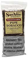 Super Value Natural Cavendish Pipe Tobacco 12oz Bag