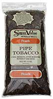 Super Value Peach Pipe Tobacco 12oz Bag
