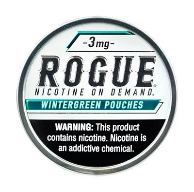 Rogue Nicotine Pouches Wintergreen 3mg 5ct