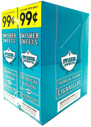 Swisher Sweets Cigarillos Tropical Fusion