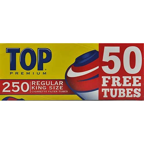 Top Cigarette Tubes Full Flavor King 250ct