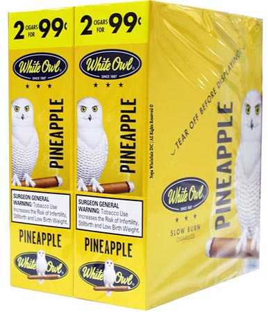 White Owl Cigarillos Pineapple 30ct