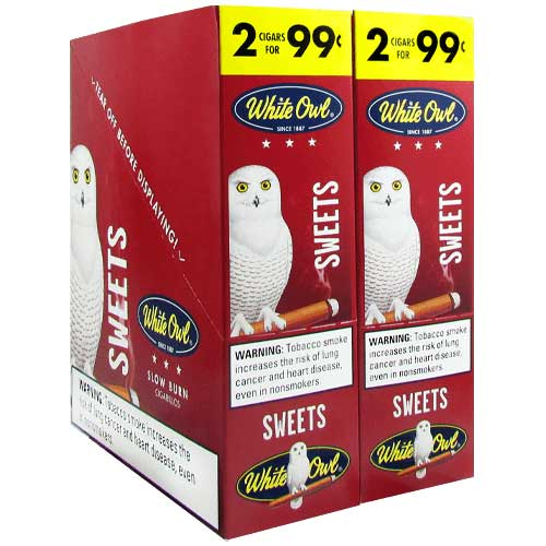 White Owl Cigarillos Sweets 30ct