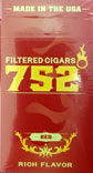752 Degrees Little Cigars Red Box
