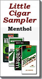 Little Cigar Sampler Carton Menthol