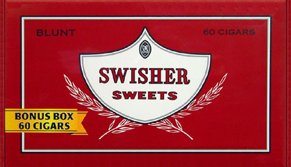 SWISHER SWEETS BLUNT 60CT BOX