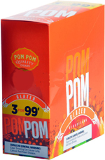 Pom Pom Cigarillos Glazed 15ct 3 .99c