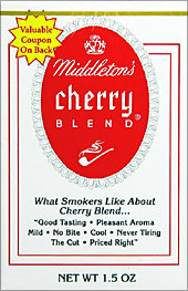 Middletons Cherry Blend Pipe Tobacco 6 1.5oz Packs
