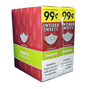Swisher Sweets Cigarillos Swerve 30ct