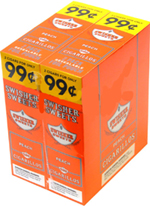 Swisher Sweets Cigarillos 2 $0.99 Peach 30 2ct