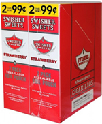 Swisher Sweets Cigarillos 2 $0.99 Strawberry 30 2ct